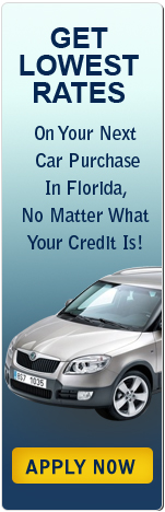 Get Lowest Rates on Your Next Car Purchase in Florida, No Matter What Your Credit Is!