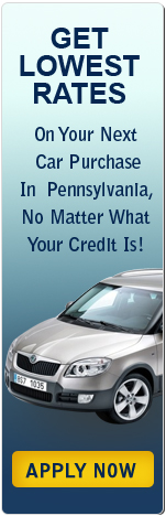 Get Lowest Rates on Your Next Car Purchase in Pennsylvania, No Matter What Your Credit Score Is!