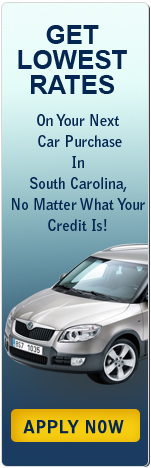 Get Lowest Rates on Your Next Car Purchase in South Carolina, No Matter What Your Credit Is!